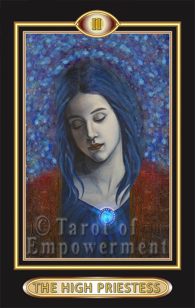 The High Priestess - Tarot of Empowerment Deck
