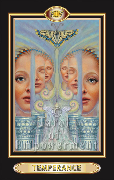 Temperance - Tarot of Empowerment Deck