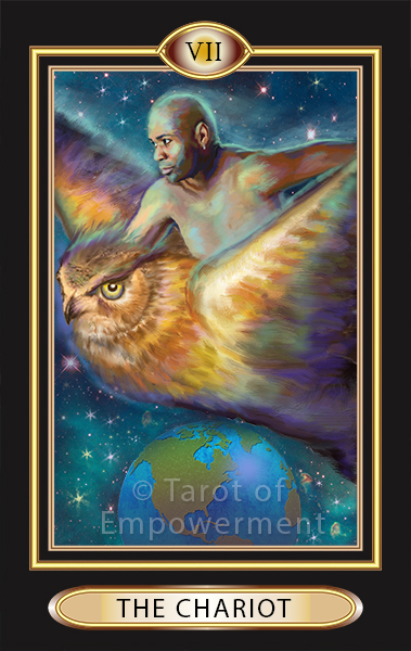 The Chariot Card - Tarot of Empowerment Deck
